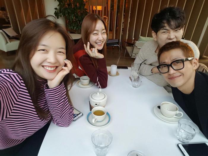 "Girl's Day's Minah Shares Photo From ""Dear Fair Lady Kong Shim"" Mini Reunion"