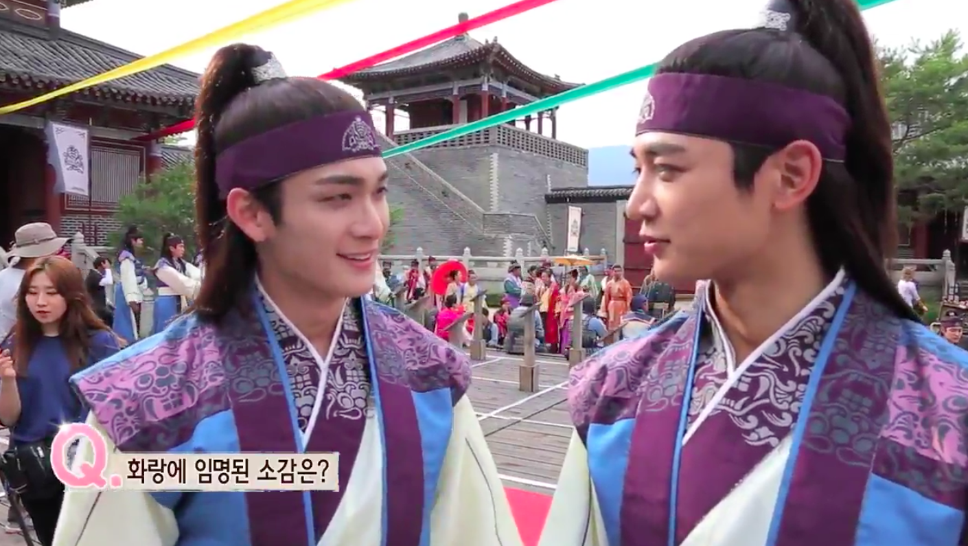 """Watch: The Cast Of """"Hwarang"""" Show Budding Bromances And More In New Behind-The-Scenes Video"""