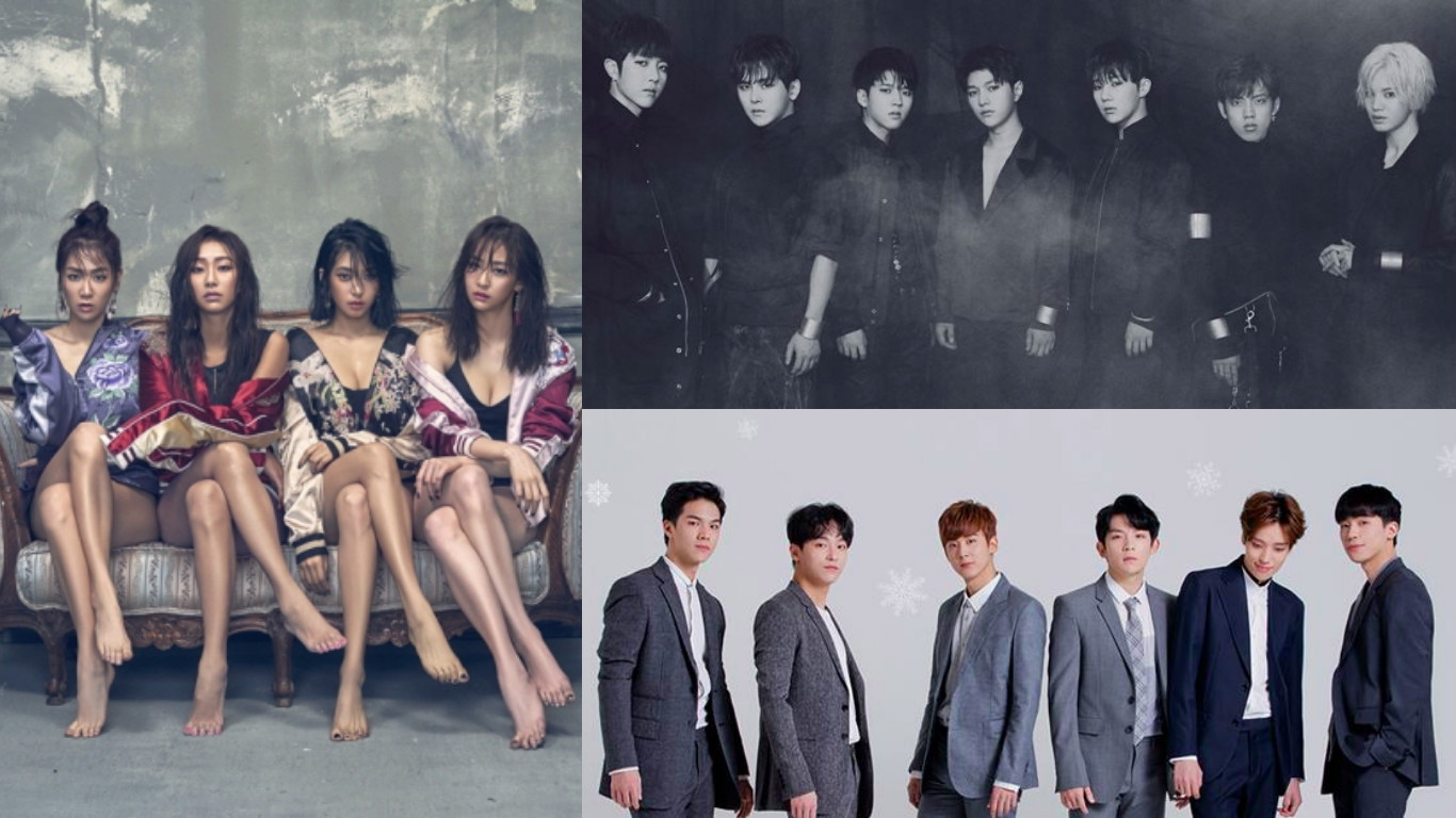 SISTAR, INFINITE, Teen Top, And More Groups' Contracts To Expire This Year