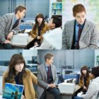 """Namgoong Min And Nam Sang Mi Let Their Eyes Do The Talking In Stills For """"Chief Kim"""""""