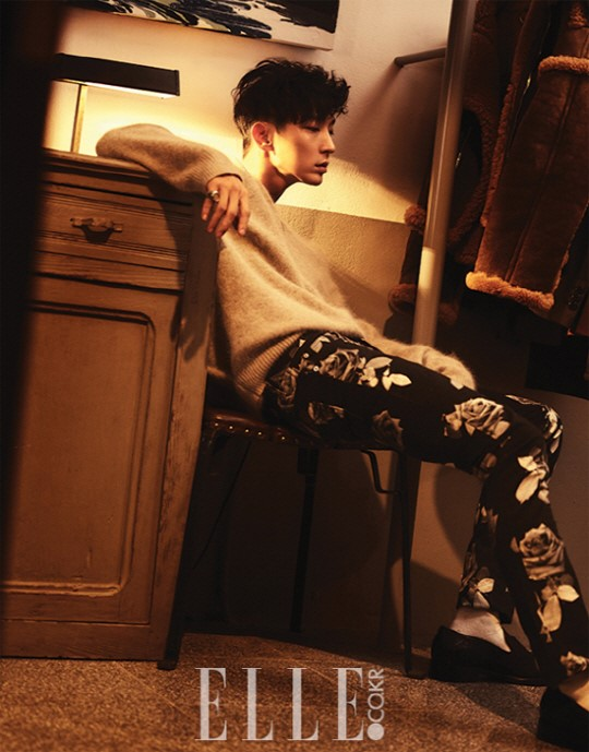Lee Joon Gi Roams The Night In Charismatic B Cuts For Elle Korea
