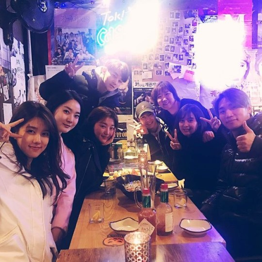 """BIGBANG's Daesung, Kim Ji Won, And Crew Of """"What's Up"""" Have Reunion To Support SPICA's Yang Jiwon"""