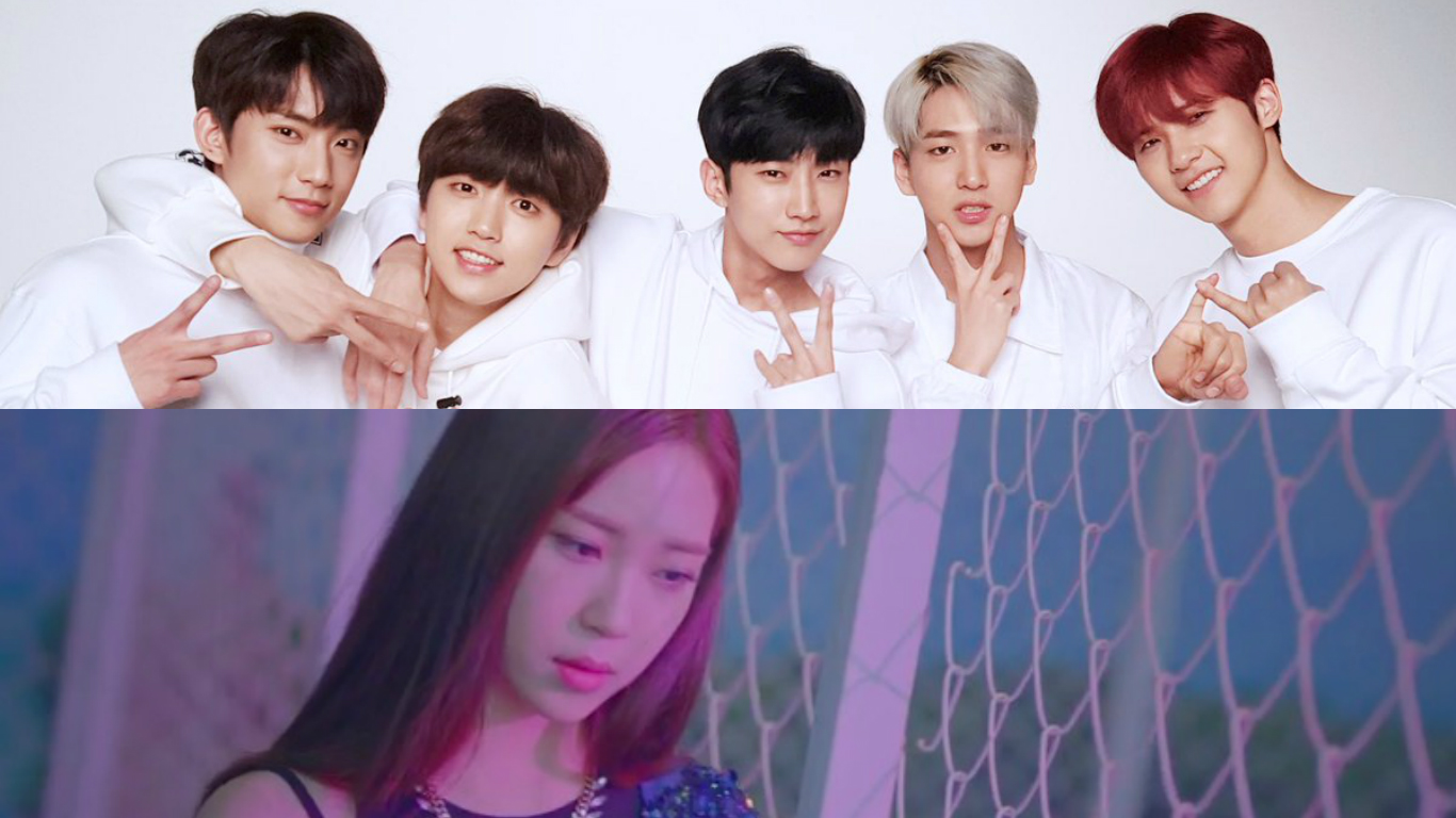 B1A4 Members Cheer On Baro's Younger Sister I After Solo Debut