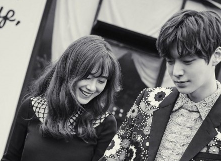 "Watch: Ahn Jae Hyun And Ku Hye Sun Have A Crazy Adorable Phone Conversation On ""New Journey To The West"""