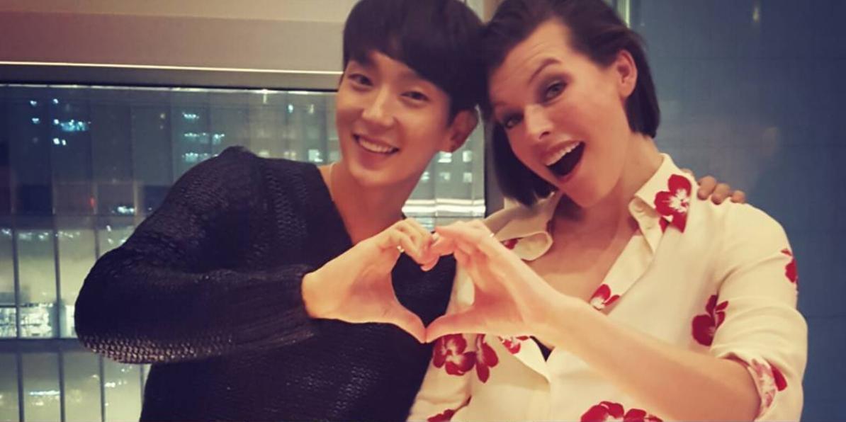 "Lee Joon Gi Makes Milla Jovovich's Trip To Korea Memorable Ahead Of ""Resident Evil"" Premiere"