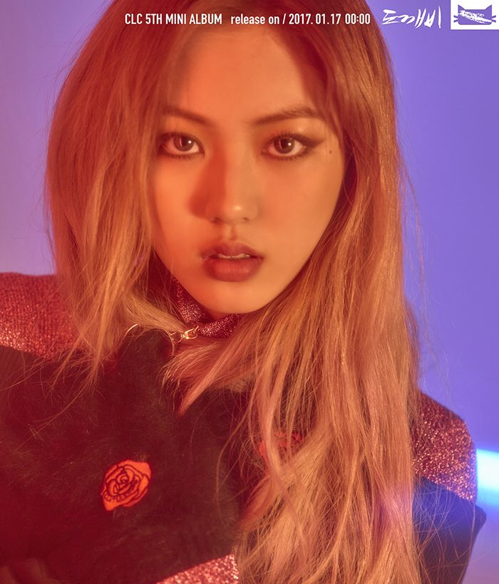 """Update: CLC Releases Colorful Retro Individual Teaser Images For """"CRYSTYLE"""" Mini Album"""