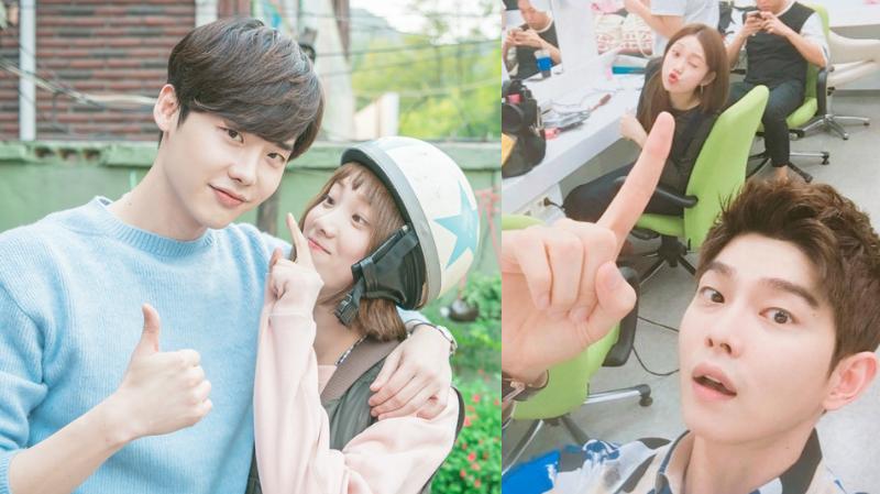 Lee Jong Suk Lee Sung Kyung Yoon Kyun Sang