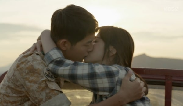 The Top 10 K-Drama Kisses Of 2016