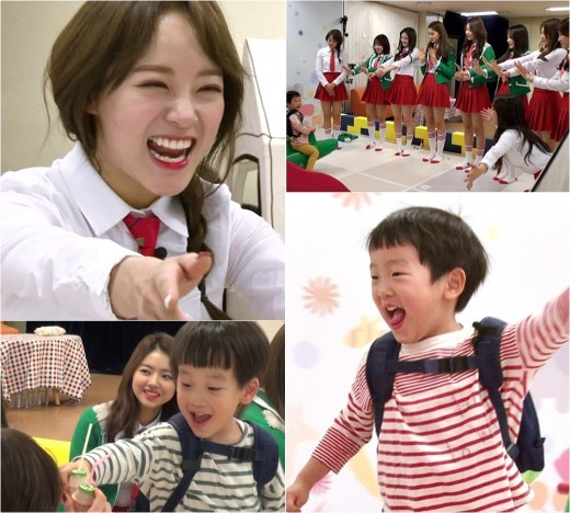 "I.O.I Competes To Become Children's Favorite On ""The Return of Superman"""