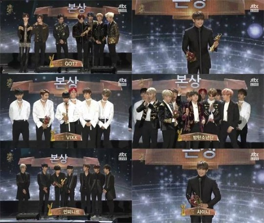 31st Golden Disc Awards Winners