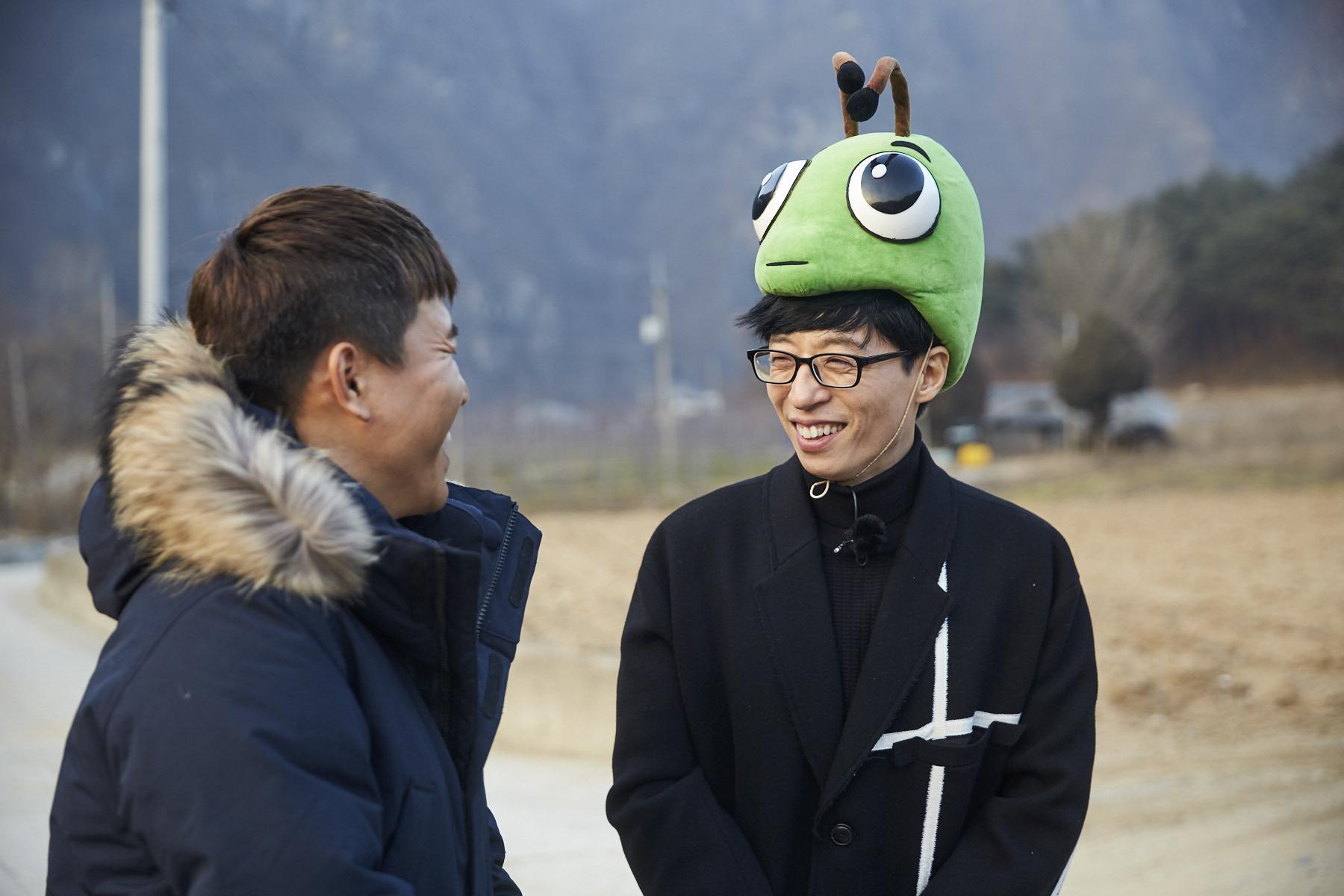"""Yoo Jae Suk Parodies """"Goblin"""" And Seeks His Own Goblin Bride On """"Infinite Challenge"""""""