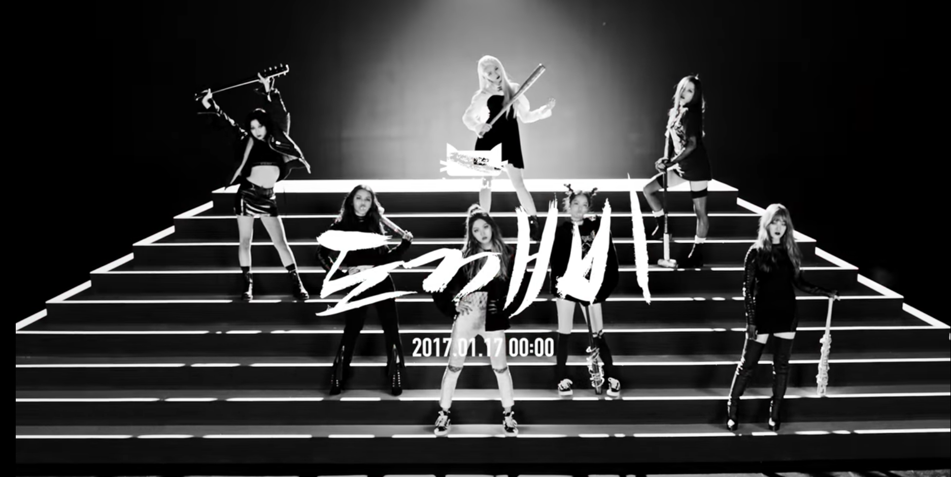 """Watch: CLC Does A 180-Degree Spin On Their Image In Fierce """"Hobgoblin"""" Teaser"""