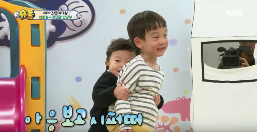 """""""The Return Of Superman"""" Kids Have A Loud Reunion Behind The Scenes Of KBS Entertainment Awards"""