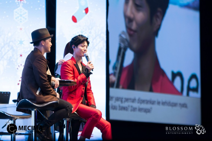 The Best 5 Moments From Park Bo Gum's Seriously Sweet Fan Meeting in Jakarta