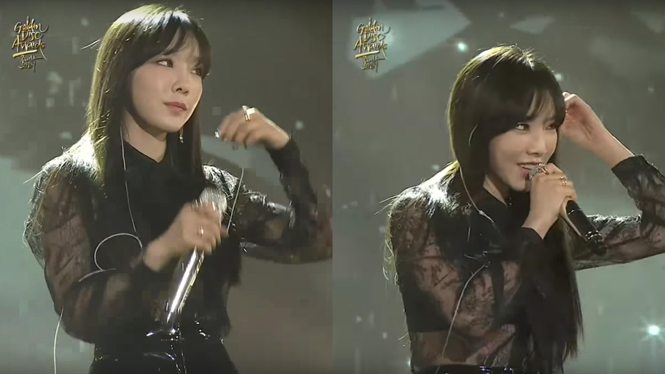 31st Golden Disc Awards Staff Officially Apologize For Mistake During Taeyeon's Performance