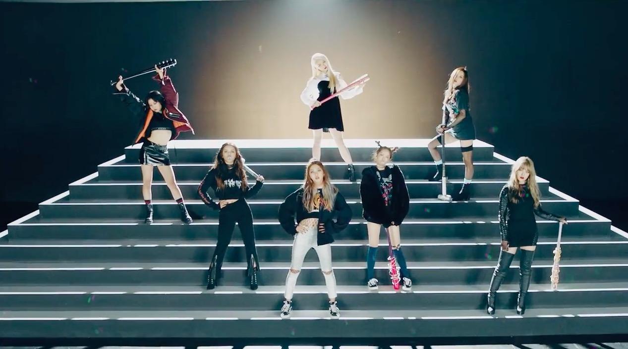 "Watch: CLC Returns With A Fierce New Image In MV For ""Hobgoblin,"" Written By HyunA"