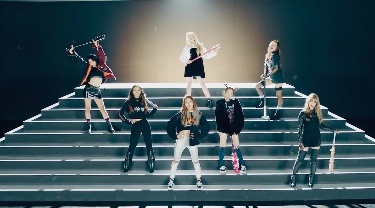 "Watch: CLC Returns With A Fierce New Image In MV For ""Hobgoblin,"" Written By HyunA"