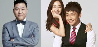 Psy Kim Tae Hee Rain