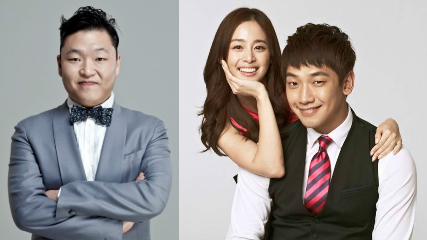 "Psy Shares Adorable Story About ""The Best Present"" Lyrics To Congratulate Rain And Kim Tae Hee"