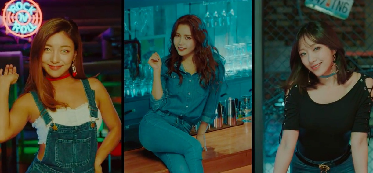 "Watch: Luna, Solar, And Hani Are A Talented And Stunning Trio In ""Honey Bee"" MV"