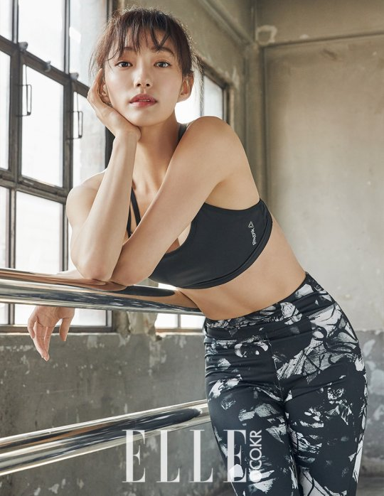 "Lee El Of ""Goblin"" Is A Fitness Goddess For Elle"