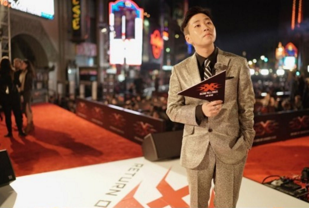 """DinDin Attends L.A. Premiere Of """"xXx: The Return of Xander Cage"""" As Korean Representative"""
