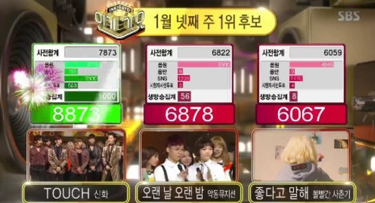"""Watch: Shinhwa Wins """"Inkigayo"""" With """"TOUCH""""; Performances By Seohyun, SEVENTEEN, And More!"""