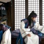 """Hwarang"" Shares Stills Of Tender Scene Between Park Seo Joon And Go Ara"