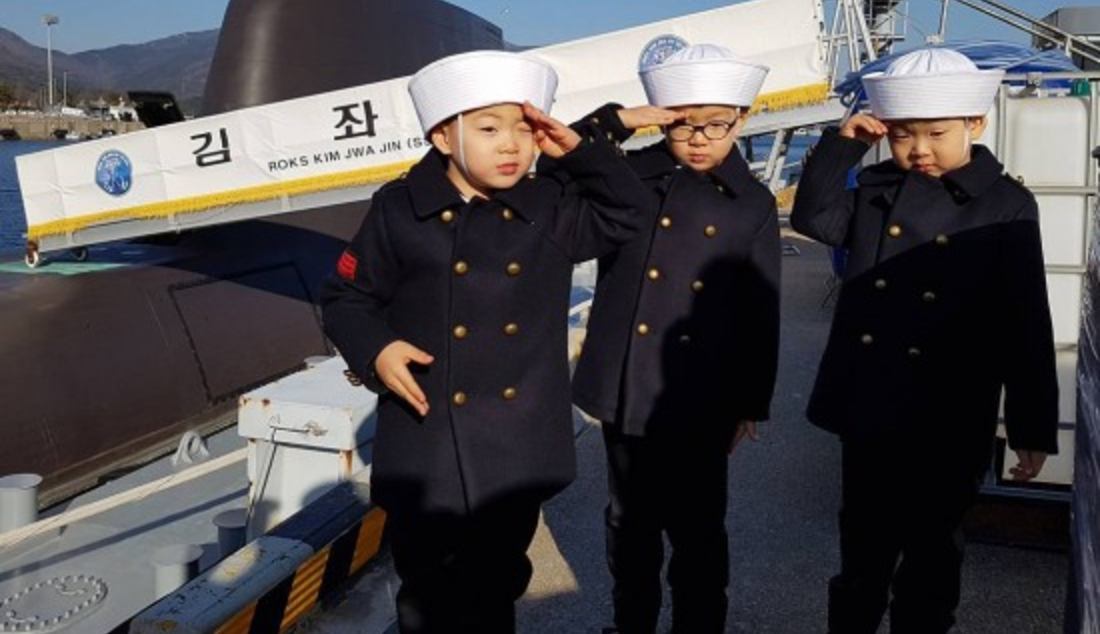 Daehan, Minguk, And Manse Are Dapper Sailors In New Update From Song Il Gook
