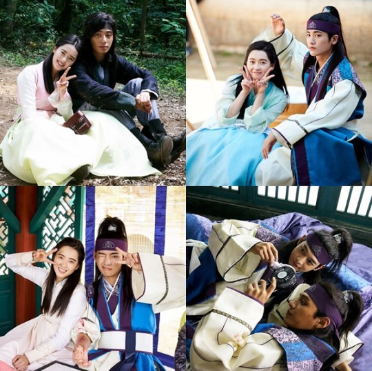 "Cast Of ""Hwarang"" Show Adorable Chemistry In Behind-The-Scenes Photos"