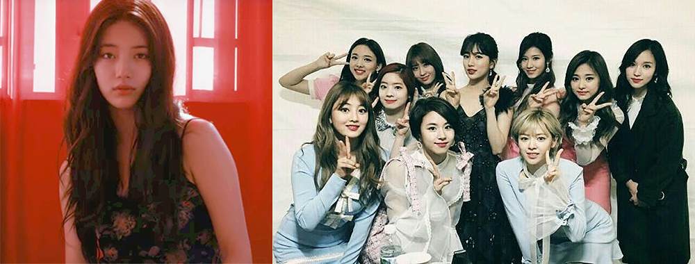 TWICE Shows Their Support For Suzy's Solo Debut Album On Social Media