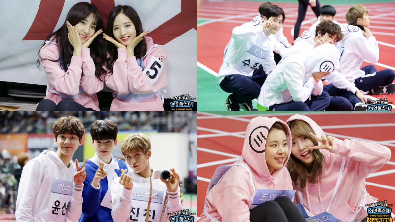 "Idols Are All Smiles In New Stills For ""2017 Idol Star Athletics Championships"""