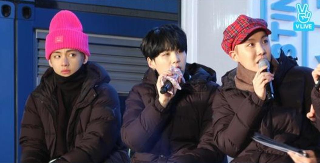 BTS V Suga J-Hope