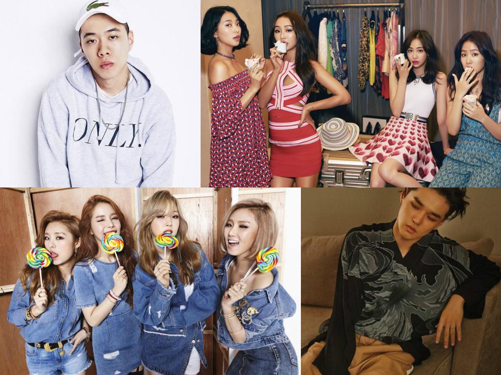 BewhY, SISTAR, MAMAMOO And More Set To Appear At 6th Gaon Chart Music Awards