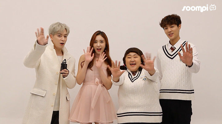 "Interview: Boyfriend's Donghyun, SONAMOO's Nahyun, And More On Their Mini-Drama ""The Miracle"""