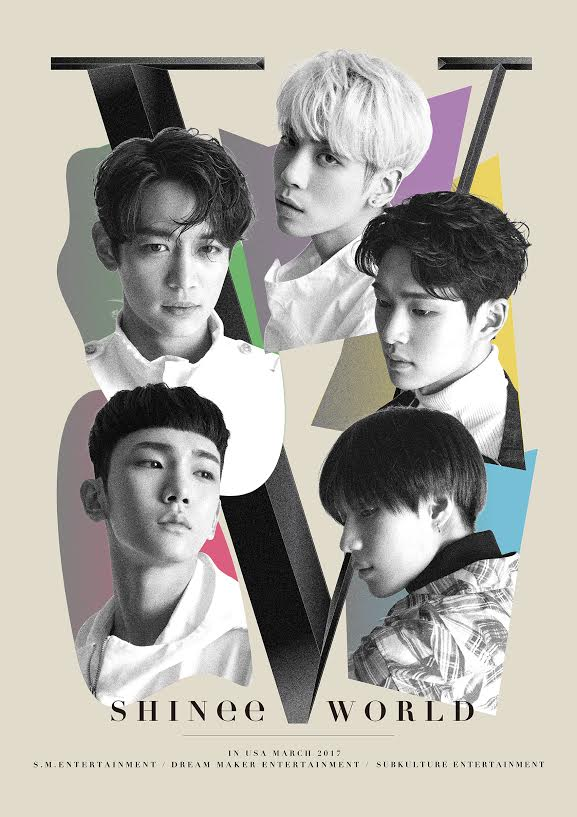 """SHINee World V"" Is Coming To 2 Cities In The US!"