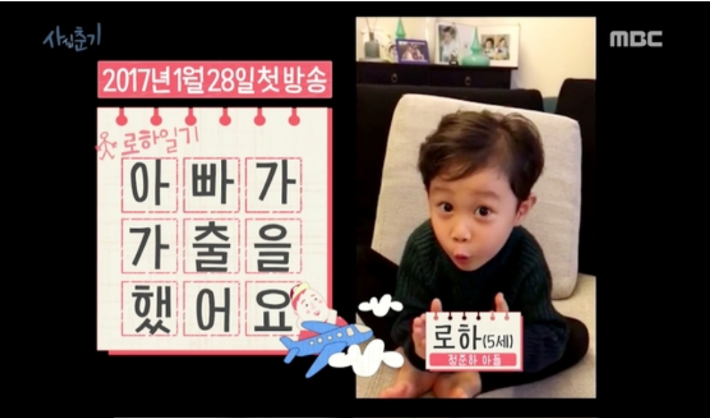 Jung Joon Ha's Son To Narrate His Upcoming Travel Variety Show With Kwon Sang Woo