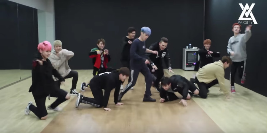"Watch: VARSITY Barely Survives Dancing ""U R My Only One"" At Double Speed"