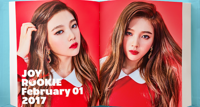 """Red Velvet Reveals Joy's Teaser Photos For Comeback With """"Rookie"""""""
