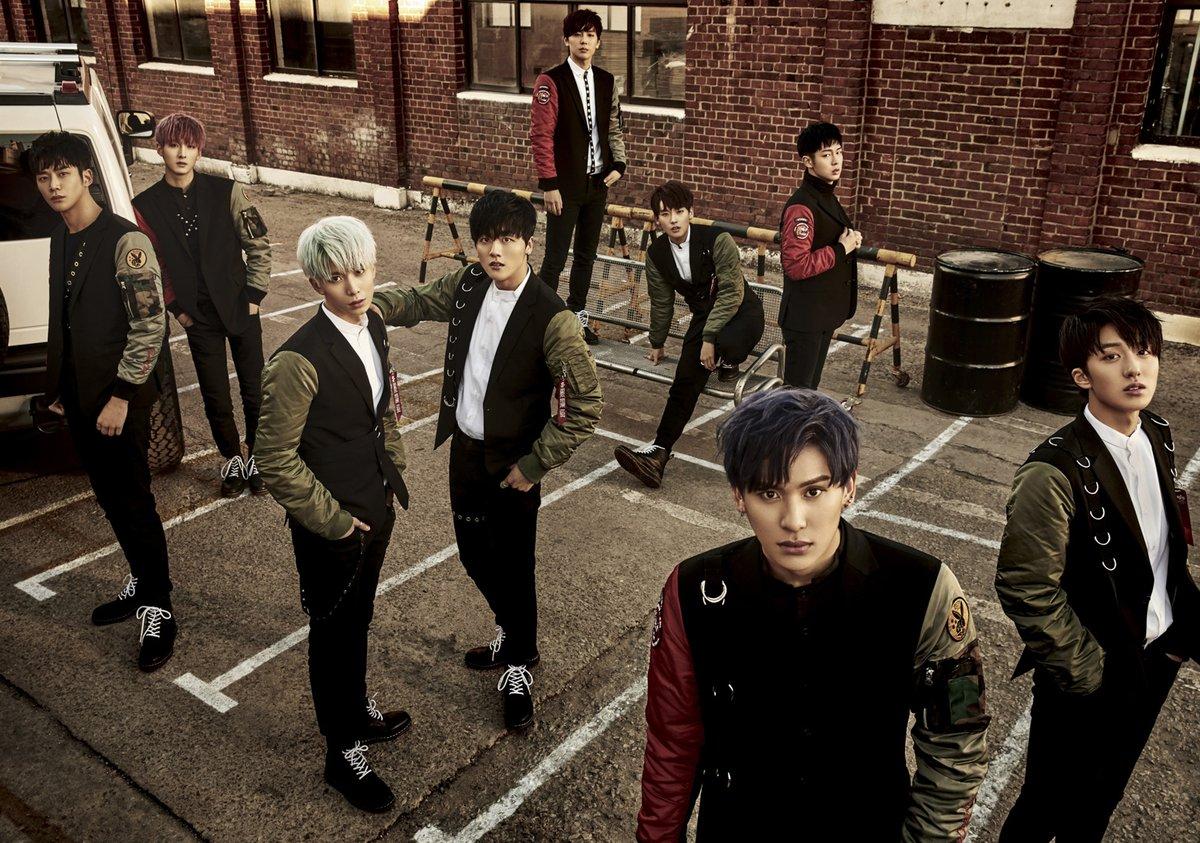 "SF9 Reveals Track List And Highlight Medley For Upcoming 1st Mini Album ""Burning Sensation"""