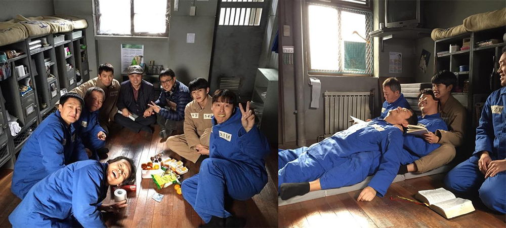 """Ji Sung Shares Behind-The-Scenes Pictures From """"Defendant"""" On Social Media"""