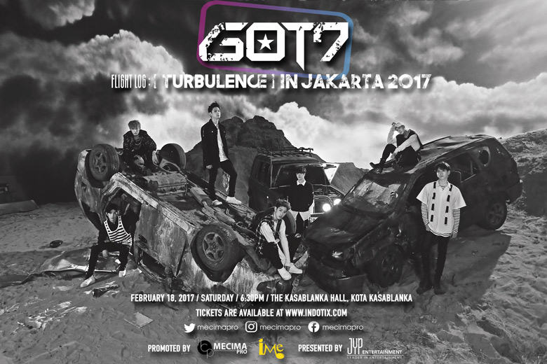 """GOT7 To Bring Their """"Flight Log: Turbulence"""" To Indonesia Next Month"""