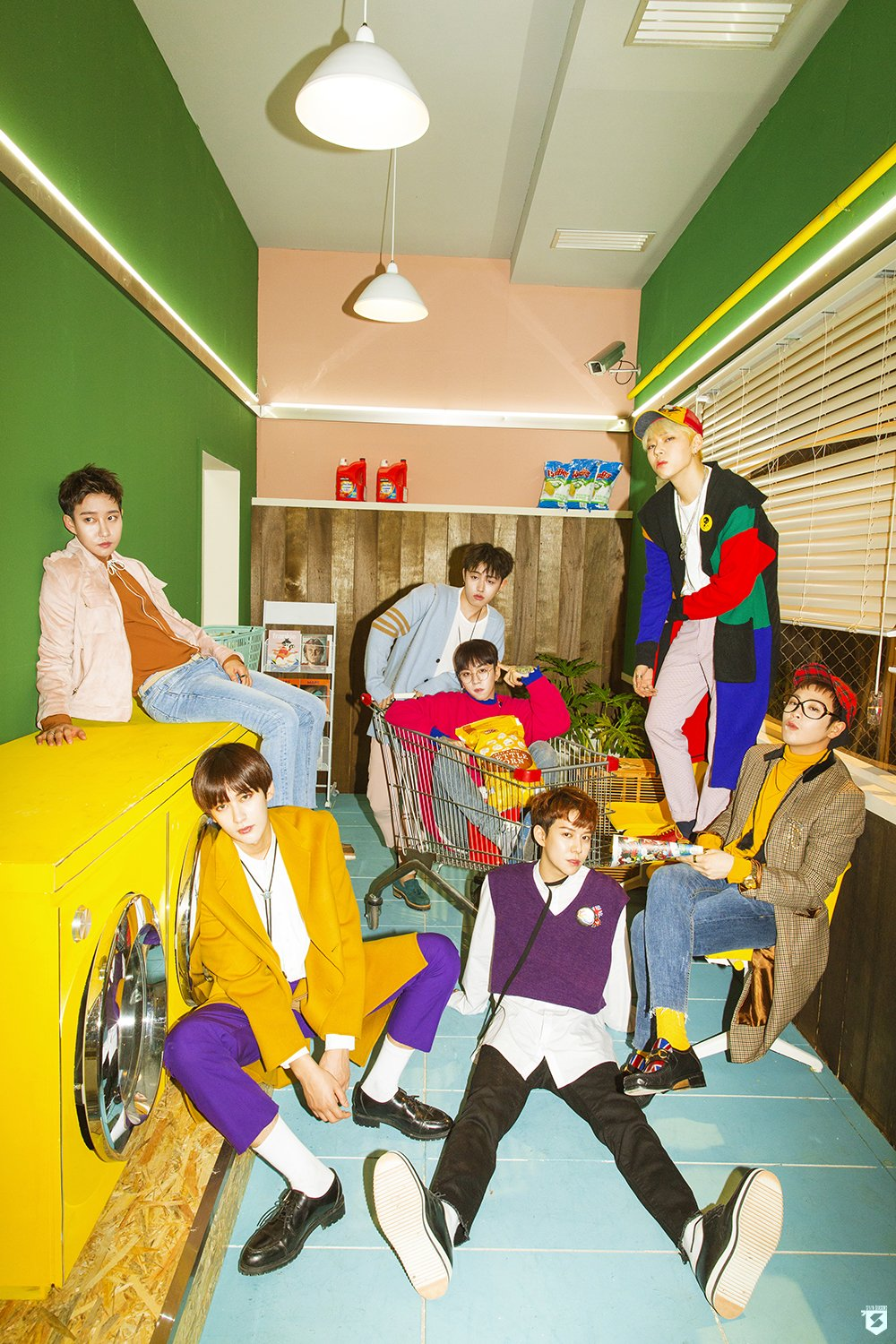"""Update: Block B Releases New Set Of Quirky Special Photos For Upcoming Track """"Yesterday"""""""