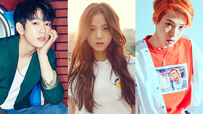 "GOT7's Jinyoung, BLACKPINK's Jisoo, And NCT's Doyoung Confirmed As New ""Inkigayo"" MCs"