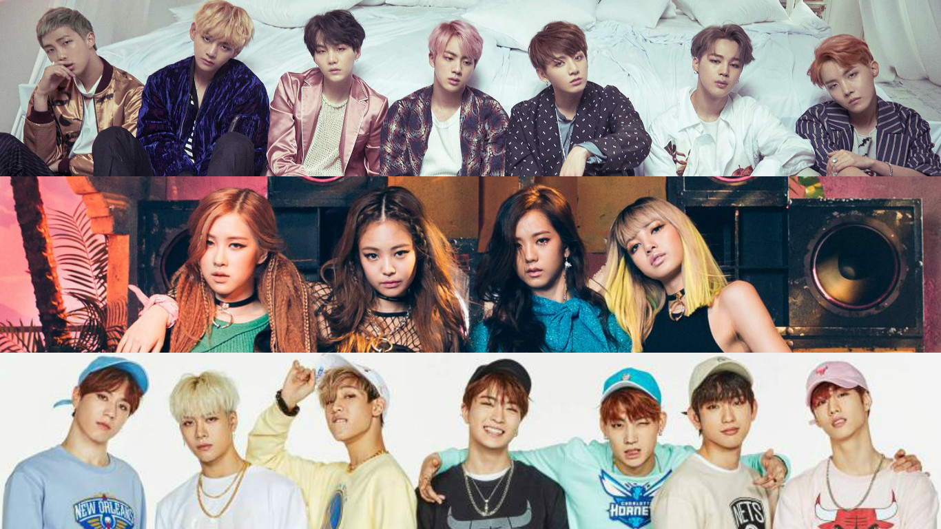 BTS BLACKPINK GOT7