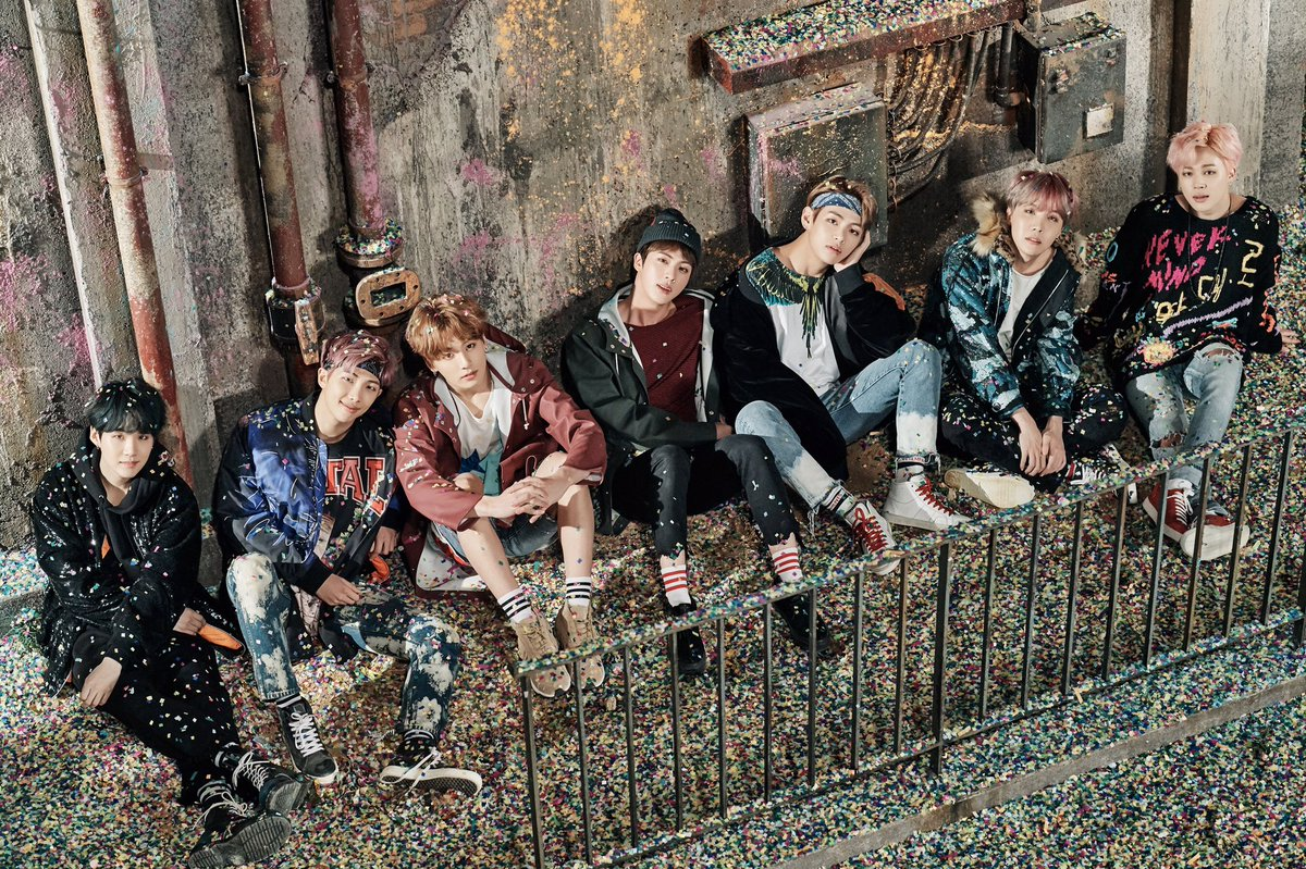 "BTS Reveals Huge First Set Of Concept Photos For ""You Never Walk Alone"""