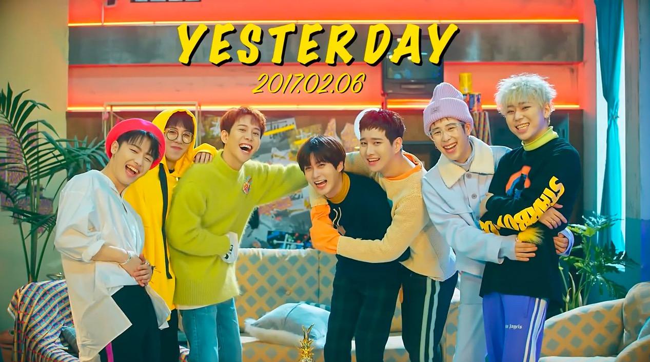 "Watch: Block B Channels The ""Friends"" Crew In ""Yesterday"" MV Teaser"