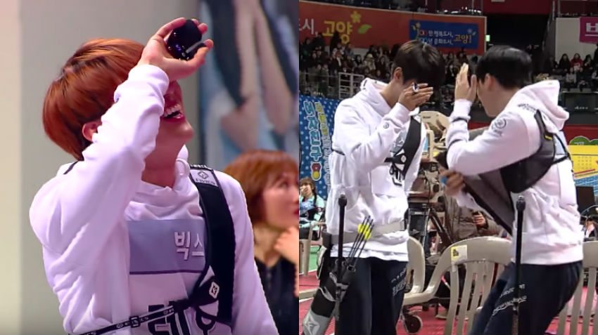 "Leo's Performance At ""2017 Idol Star Athletics Championships"" Hilariously Horrifies VIXX Members"
