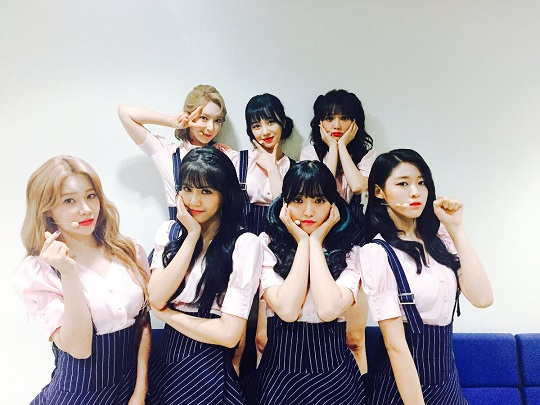 """AOA Takes 3rd Win On """"M!Countdown"""" With """"Excuse Me"""""""