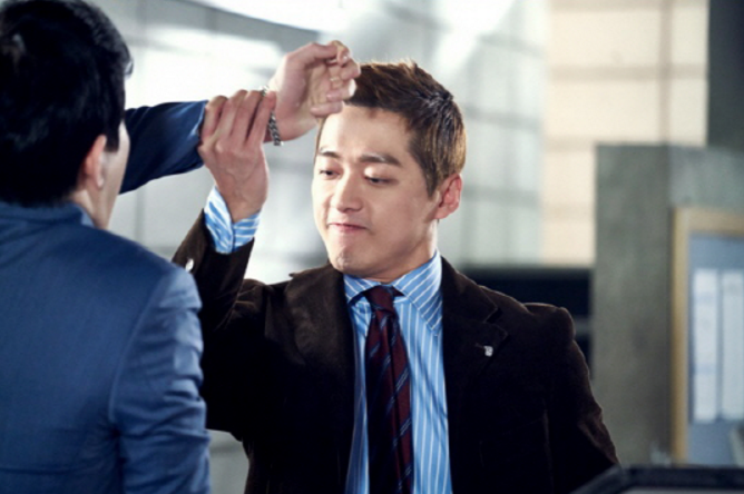 "Namgoong Min Warns Opponent To Not Mess With Him In ""Chief Kim"" Stills"